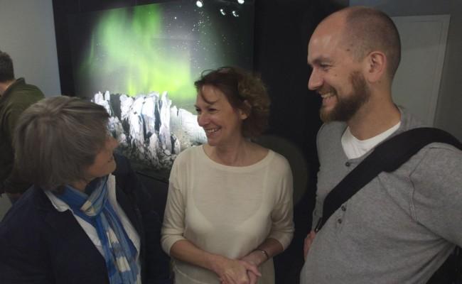 Nomi Baumgartl und Sven Nieder mit Vivian Laux-Eggert