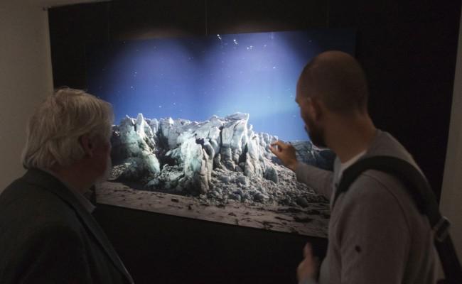 Drei Monate später kollabierte der Gletscher