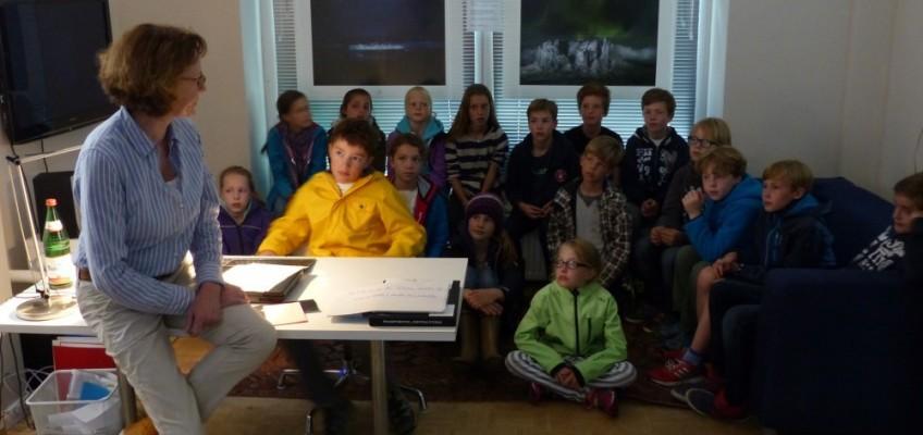 Klassenausflug zu den Eisbergen