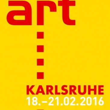 VisuleX präsentiert Marcus Schwier auf der art Karlsruhe 18.-21. Februar 2016